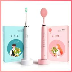 2019 Latest Smart Sonic Electric Toothbrush Cleansing with 2