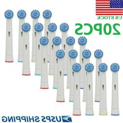 20Pcs Sonic Electric Toothbrush Replacement Brush Heads Fit
