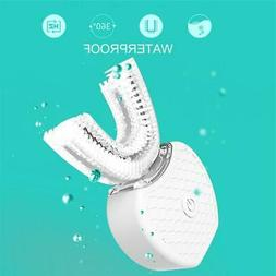 360 Degrees Intelligent Automatic Sonic Electric Toothbrush