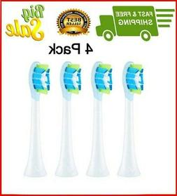 4 Pack Sonic Brush Heads Philips Sonicare Toothbrush Oral Ca