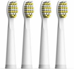 4X Hard Fairywill Sonic Electric Toothbrush Replacement Head