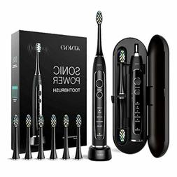 6 Brush Head Oral Care Ultra Sonic Electric Toothbrush Recha