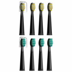 8X Fairywil Sonic Electric Toothbrush Replacement Heads For