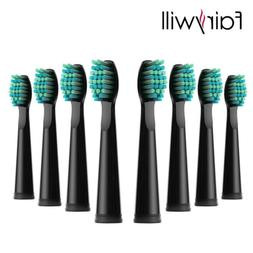 8x Replacement Electric Toothbrush Heads for Fairywill Sonic