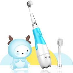 Baby Electric Toothbrush, Toddler Teeth Brushes with Smart L