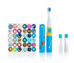 Brush-Baby Go-Kidz Electric Toothbrush Gift Set - Blue
