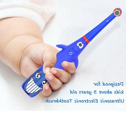 Cute Cartoon Children Electric Soft Oral Sonic DentalCare To