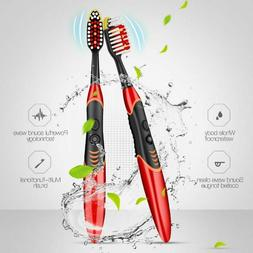 Double Sided Sonic Toothbrush Electric Tongue Cleaner Scrape
