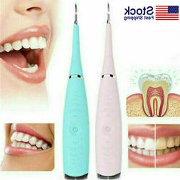 electric sonic dental tooth stain polisher teeth