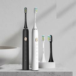 Electric Sonic Toothbrush USB Rechargeable Automatic Ultraso