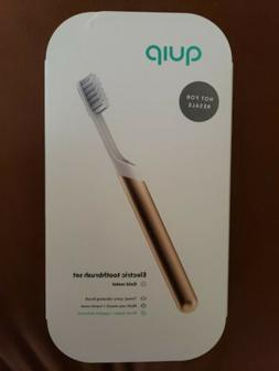Quip Electric toothbrush Set copper metal or gold metal,soni
