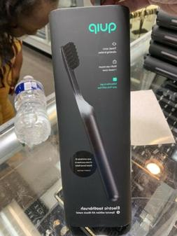 Quip Electric Toothbrush Special edition All-Black metal Son