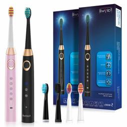 Fairywill Electric Toothbrushes Rechargeable Travel Waterpro