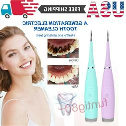 Electric Ultrasonic Sonic Dental Scaler Tooth Stains Tartar