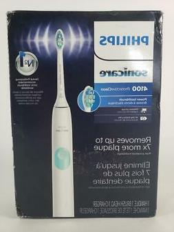 hx6817 01 protectiveclean 4100 rechargeable toothbrush white