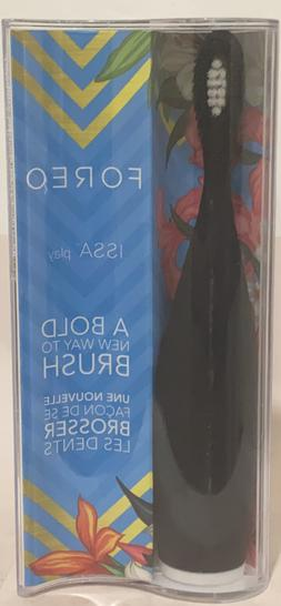 FOREO ISSA play Silicone Electric Toothbrush, Cool Black NEW