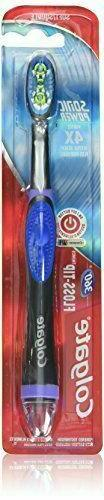 Colgate 360 Floss-Tip Sonic Power Toothbrush, Colour: Graphi