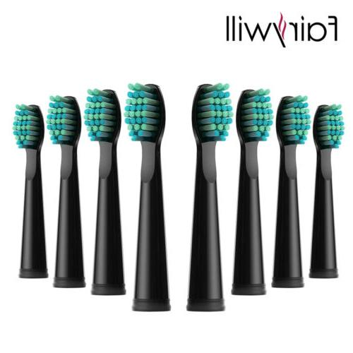 8x replacement electric toothbrush heads for sonic