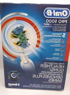 braun oral b pro 5000 rechargeable electric
