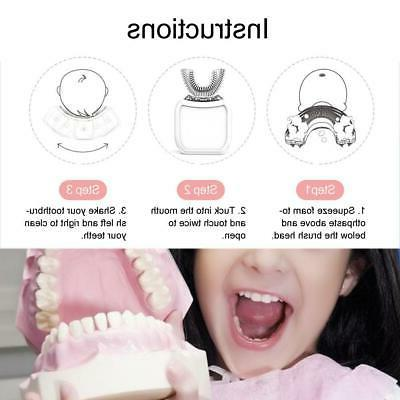 Children Intelligent Cleaning Electric Toothbrush Care