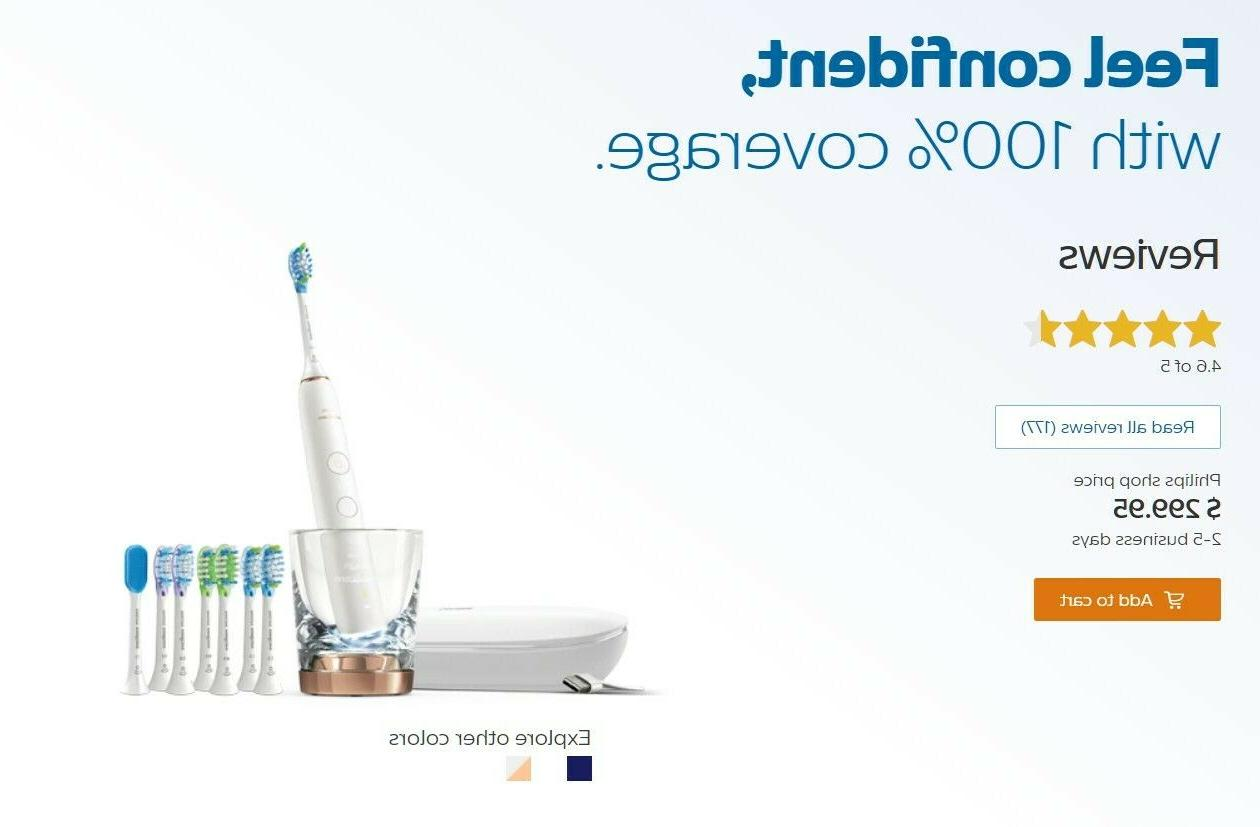 Philips Sonicare DiamondClean 9700, White