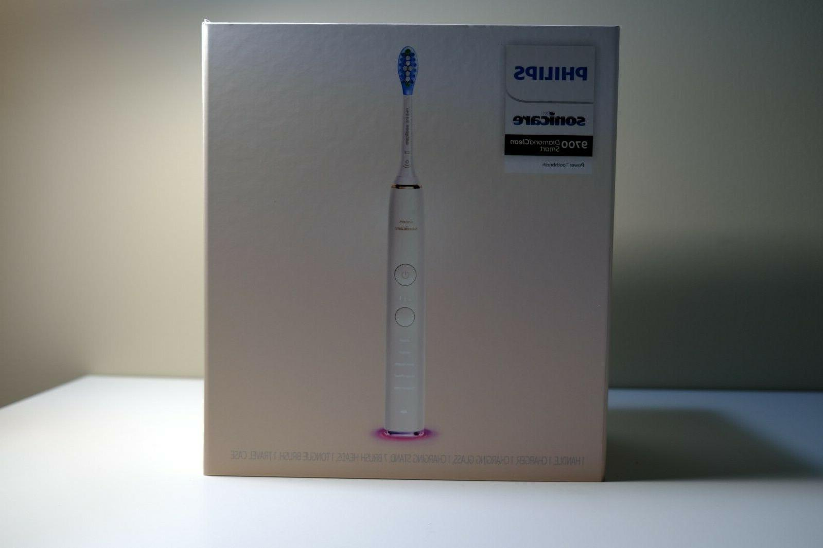 Philips DiamondClean Smart 9700, Electric Toothbrush White