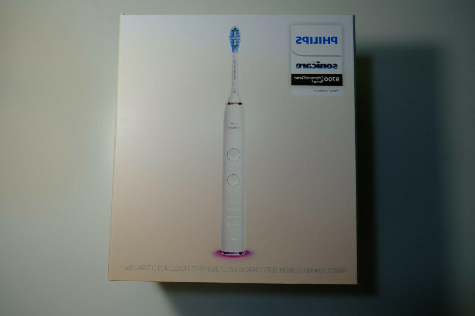 diamondclean smart 9700 electric toothbrush white