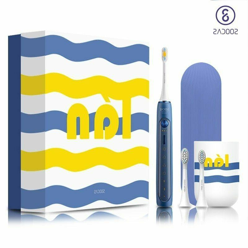electric toothbrush sonic nfc smart control automatic