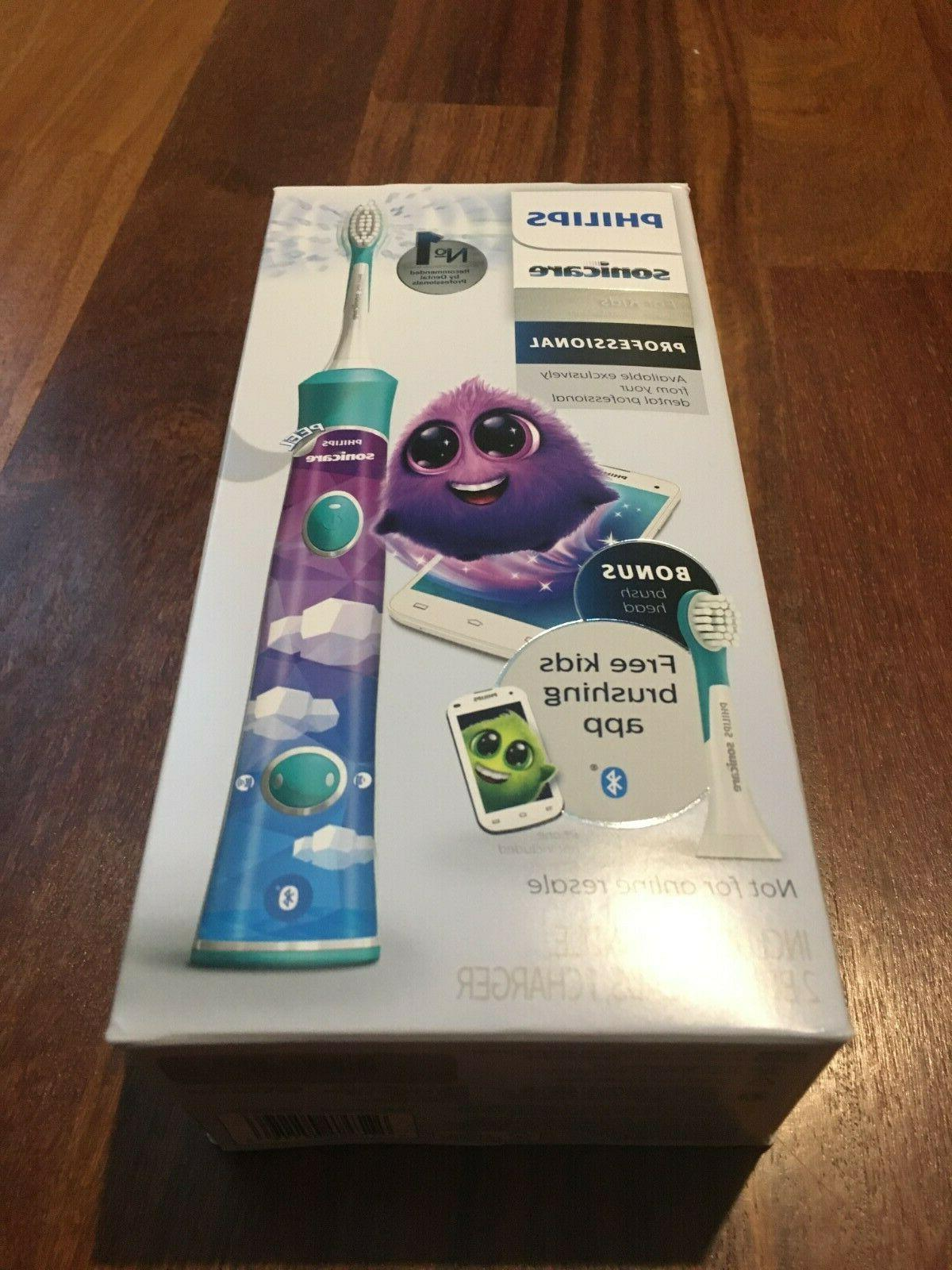 kids rechargeable bluetooth electric toothbrush sealed
