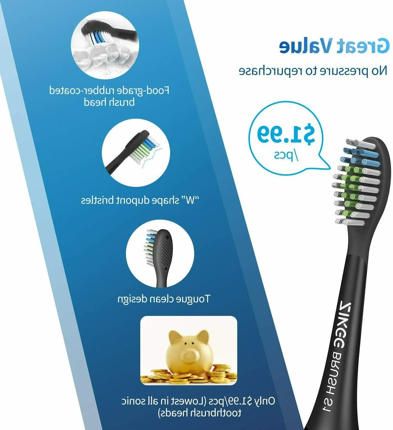 NEW Electric Toothbrush Timer, Brush Heads