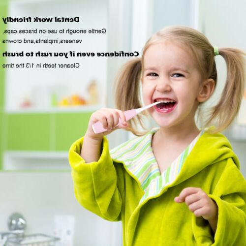 Smart Sonic Soft Rubber U-type Toothbrush For Kids