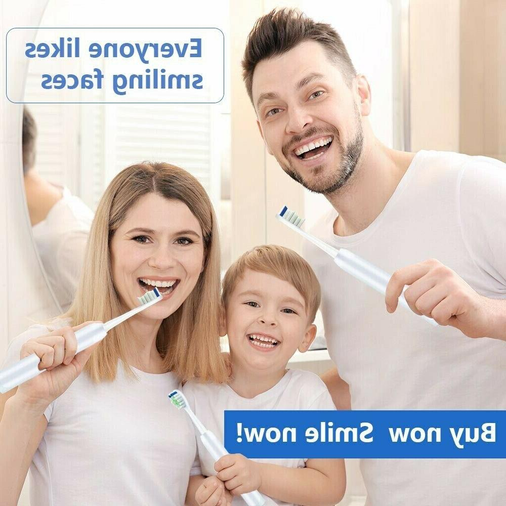 Delamu 12pcs Electric Sonic Brush For Philips Toothbrush