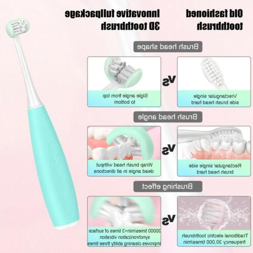 Smart Electric Soft Rubber Toothbrush For