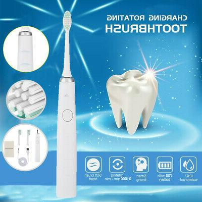 smart sonic electric toothbrush bluetooth ipx7 waterproof