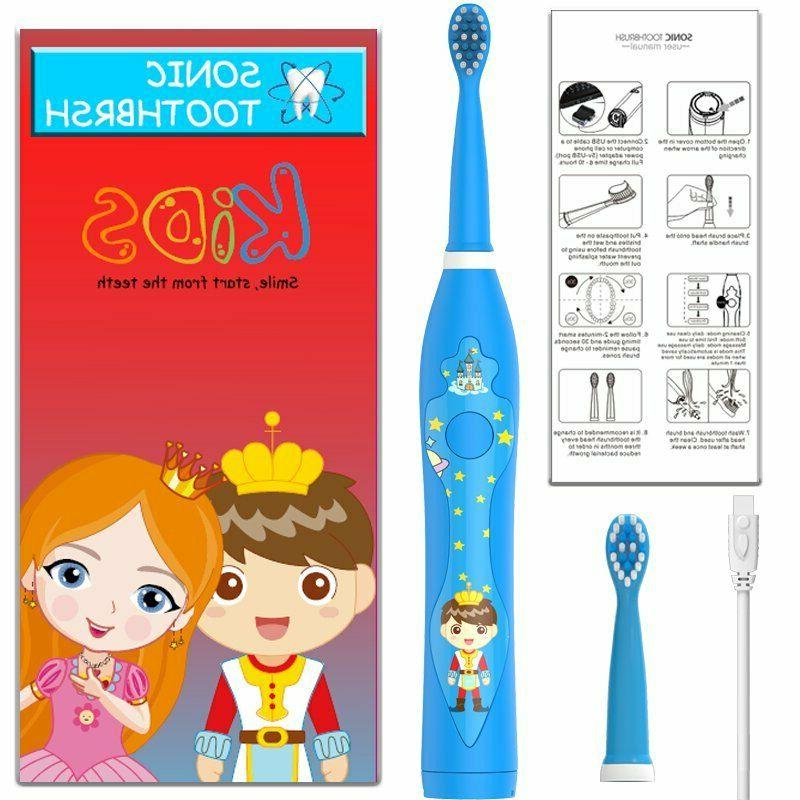 sonic electric rechargeable by usb kids child