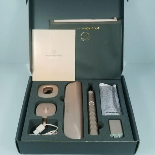 sonic electric toothbrush rose gold edition set