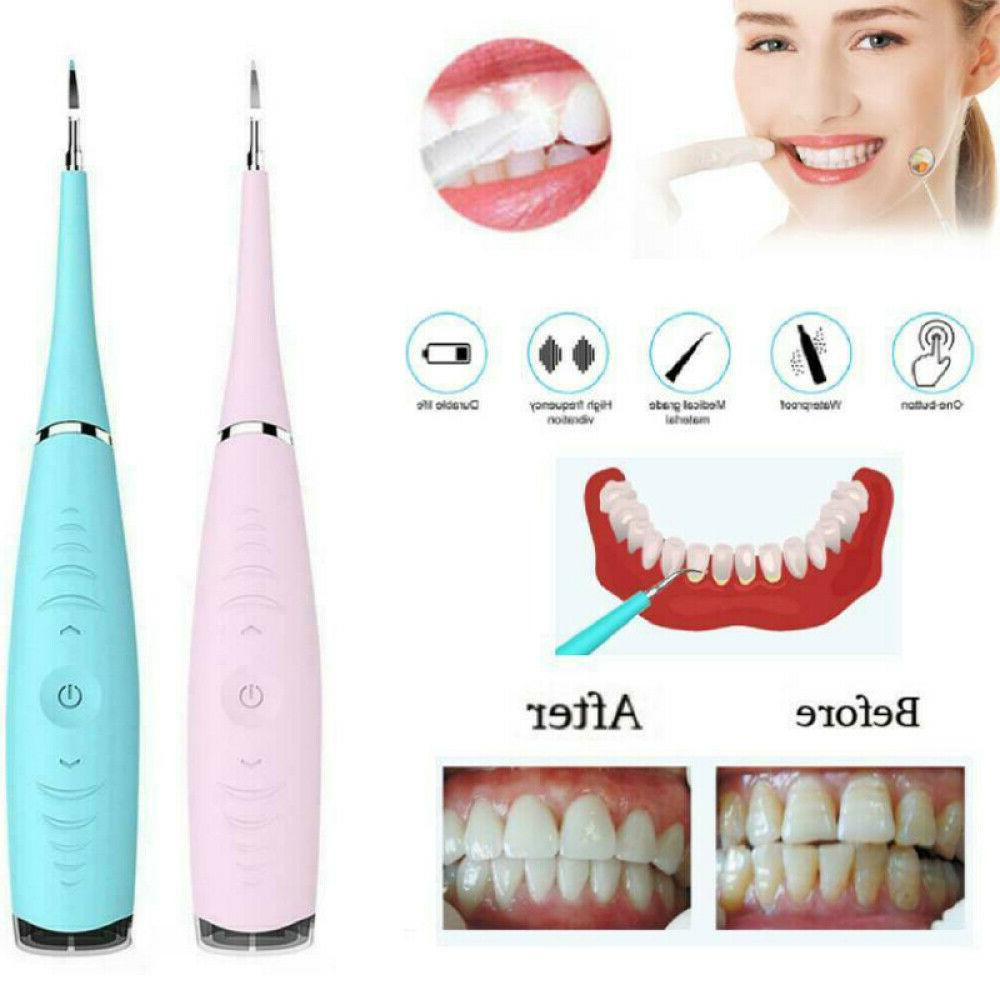Electric Tooth Stain Plaque Eraser Remover