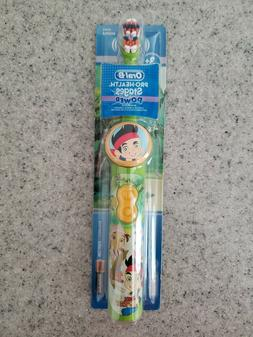 NEW Oral-B Pro-Health Jake The Never land Pirates Children's