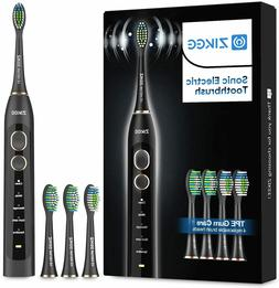 NEW Rechargeable Sonic Electric Toothbrush w/ 5 Modes, Timer