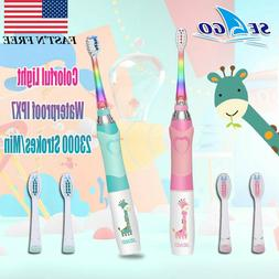 Oral Care Sonic Electric Toothbrush Soft Vibration Deep Clea