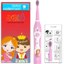 Power Sonic Care Electric Toothbrush For Kids Children Recha