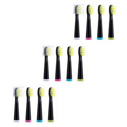 Fairywill Replacement Heads x 12 Firm Bristles For Sonic Ele