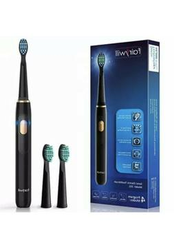 Fairywill Sonic Electric Rechargeable Toothbrush for Adults