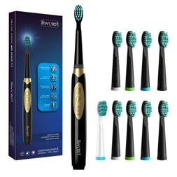 Fairywill Sonic Electric Toothbrush Battery Powered 9 Replac