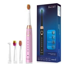 Fairywill Sonic Electric Toothbrush with 2 Minutes Smart Tim