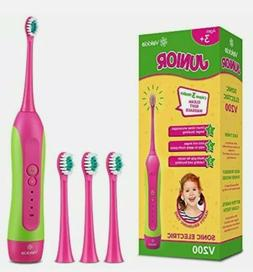 Sonic Rechargeable Kids Electric Toothbrush- 3 Modes Feature