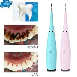 Ultra Sonic Electric Tooth Stain Eraser Cleaner Cleaning Den