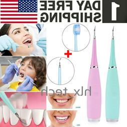 ultra sonic electric tooth stain eraser cleaner
