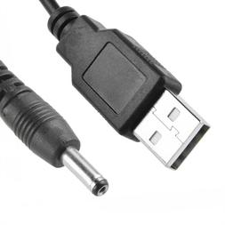 USB DC Charger Cord For Fairywill Sonic Electric Toothbrush