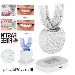 Wireless Automatic 360° Electric Sonic Toothbrush Teeth Whi